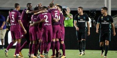 City'den Real'e gol yağmuru