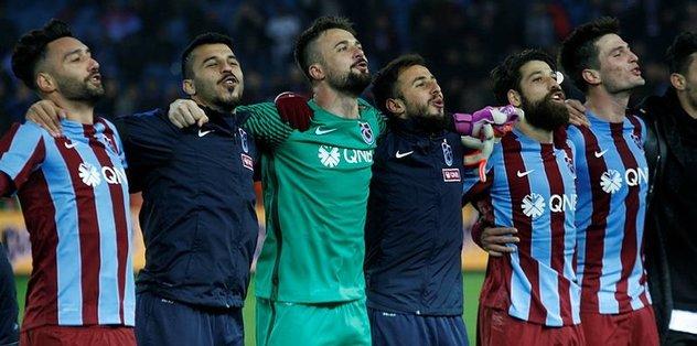 Trabzonspor takibi sürdürüyor