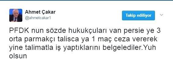 Talisca'nın cezasına sosyal medyadan tepki yağdı!