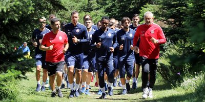 Antalyaspor hazırlıkları sürdürdü