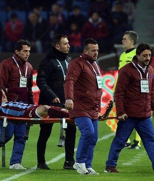 Trabzonspor'dan sakatlık açıklaması