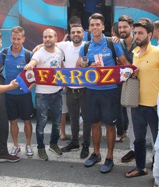 Trabzonspor İstanbul'a gitti