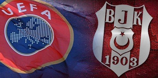 UEFA'dan Beşiktaş açıklaması