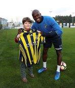 Moussa Sow'la bir araya geldi