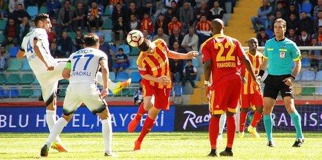Kayserispor 2-1 �. Rizespor