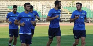 Akhisar�da Trabzonspor haz�rl�klar� ba�lad�