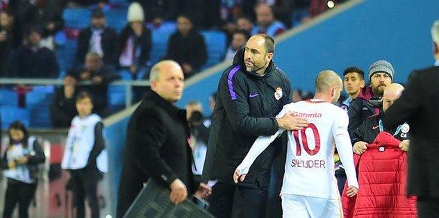 Tudor ile Sneijder arasında kilo krizi