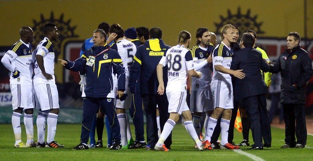 Eskişehirspor - Fenerbahçe (Spor Toto Süper Lig 12. hafta maçı)