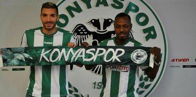 Konyaspor'dan çifte transfer