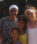 Alex'ten Türk tenisçiye tebrik