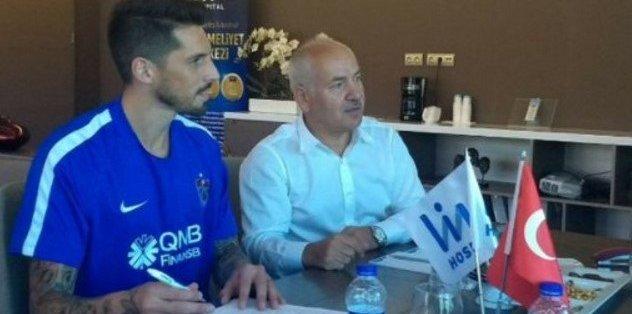 Trabzonspor Sosa'yı KAP'a bildirdi
