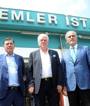 Metro istasyonuna Bursaspor ad� verildi