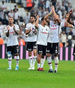 Beşiktaş yıldızlarıyla parçalar
