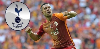 Poldi'den Tottenham'ı kızdıran paylaşım