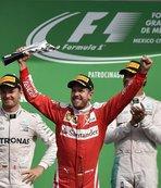 Vettel'in üçüncülüğü Ricciardo'ya verildi