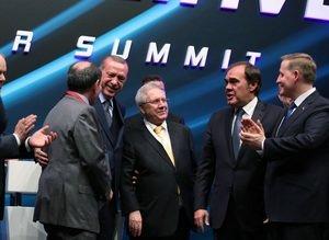 Cumhurbaşkanı Erdoğan, Aziz Yıldırım ve Dursun Özbeki bir araya getirdi