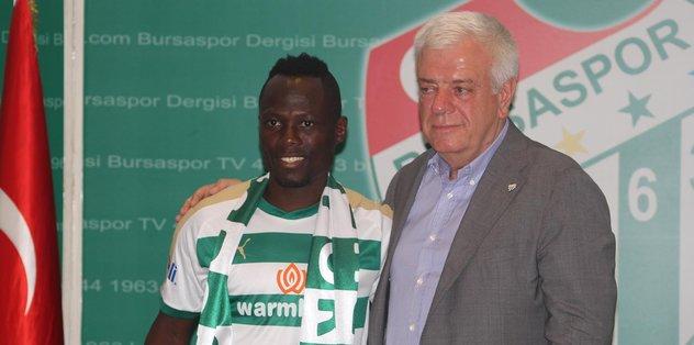 Agyeman Badu Bursaspor'da