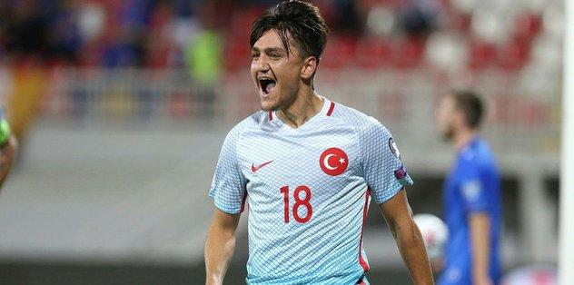 Cengiz Ünder: En iyi taraftar Beşiktaş'ta