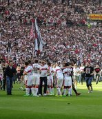 Stuttgart ve Hannover, Bundesliga'ya yükseldi