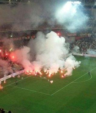 Olaylı maçla ilgili 55 kişi yakalandı