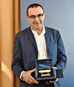 İtalya'da yılın teknik direktörü Sarri