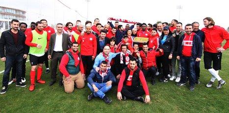 Antalyaspor'da Akhisar hazırlıkları