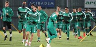 Bursaspor'da Alanyaspor hazırlıkları başladı