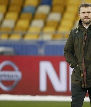 Sergiy Rebrov'dan şok açıklama!