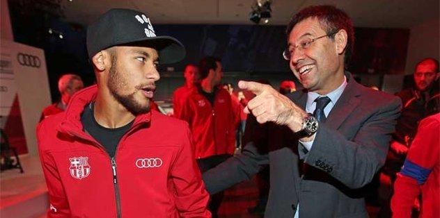 Neymar transferi için Barcelona'dan açıklama