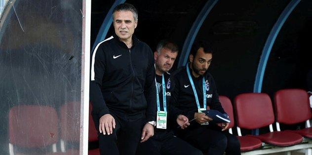 Trabzonspor'da hesaplar galibiyet üzerine