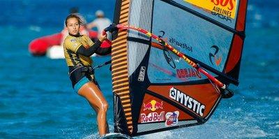 Rüzgarın Prensesi sörfte Bodrum'da yine zirvede