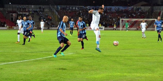 Adana Demirspor ve Balıkesir Baltok yenişemedi