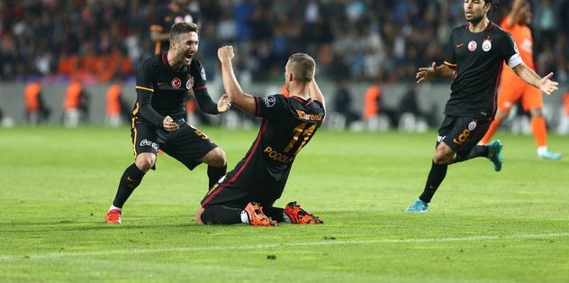 ''Sen bir Galatasaray efsanesisin!''