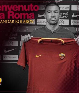 Roma, Kolarov'u transfer etti