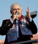 Başbakan'dan Trabzon mesajı!