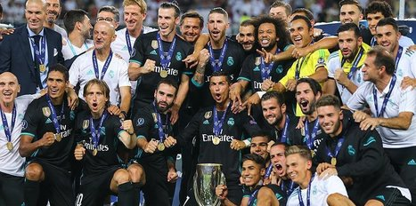 R. Madrid edges ManU for Super Cup title