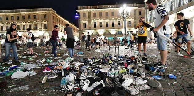 İtalya'da bomba paniği...