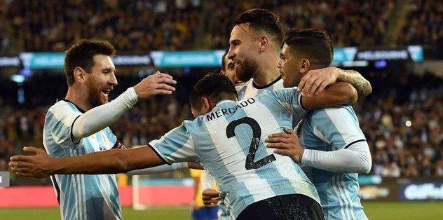 Arjantin'den tek atış