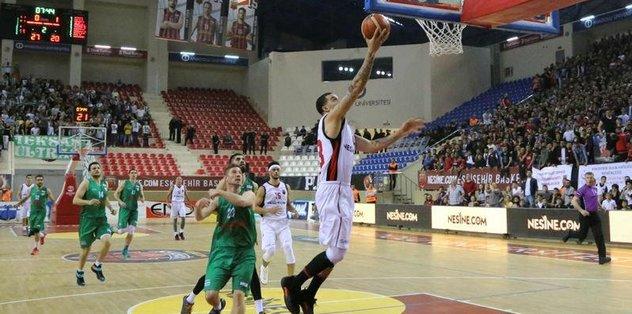 Olaylı maç Eskişehir Basket'in