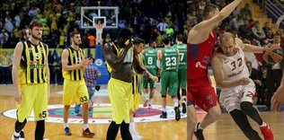 F.Bahce and G.Saray lose in Euroleague