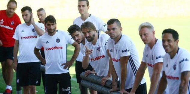 Beşiktaş kuvvet çalışması yaptı