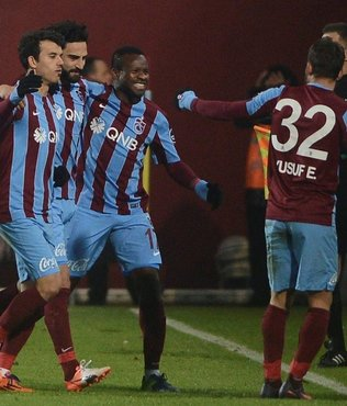Trabzonspor 4 köşe!