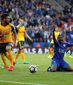 Leicester ile Arsenal yenişemedi
