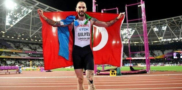Guliyev tarih yazdı!