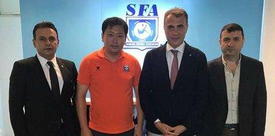 Orman'dan Şanghay Futbol Federasyonu'na ziyaret