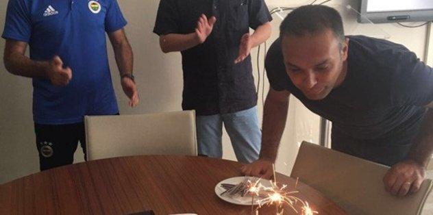 Hasan Çetinkaya'ya sürpriz doğum günü kutlaması