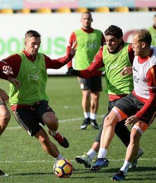 Galatasaray'da G.Antepspor hazırlıkları
