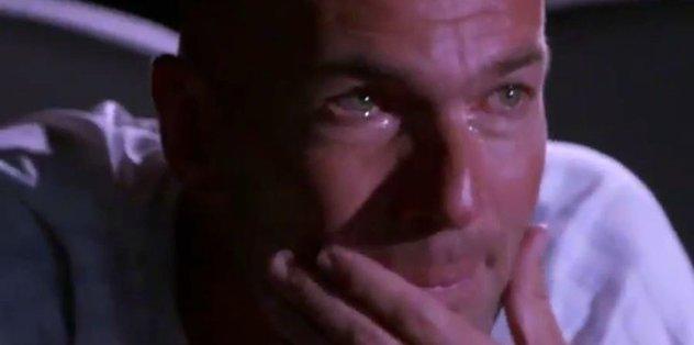 Zidane'ı gözyaşlarına boğan olay