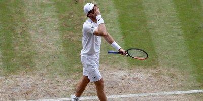 Murray çeyrek finalde elendi