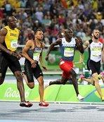 Altın madalya Bolt'un